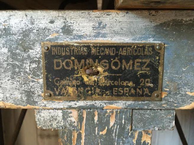 bascula industrial vintage 2