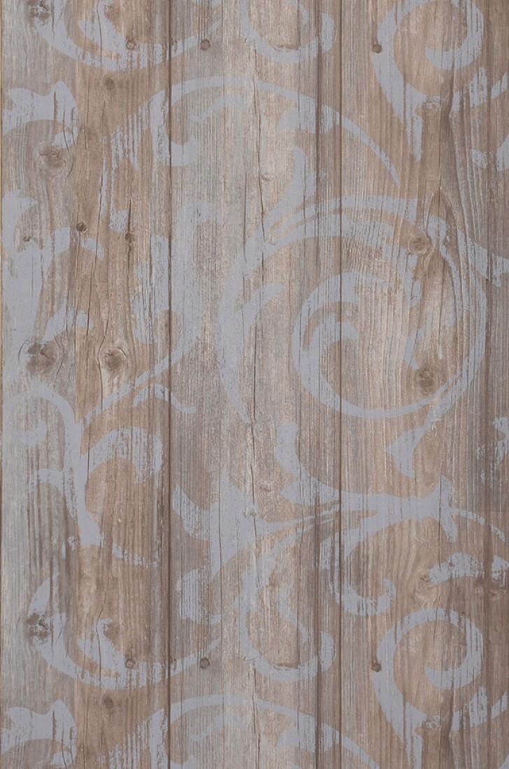 Redecorar un dormitorio estilo r stico rom ntico con for Papel pintado plastificado