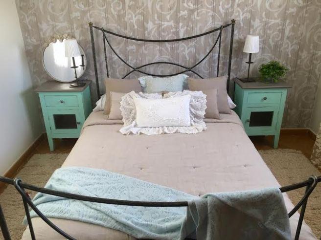 decoracion dormitorio rustico romantico