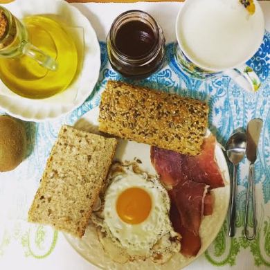 Mi desayuno de hoy