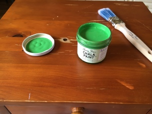 Chalk Paint Antibes green